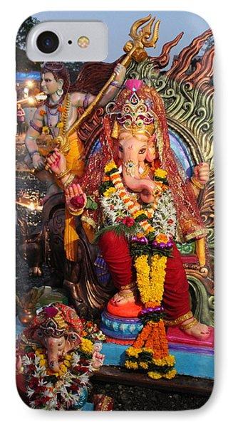 Ganesha Arati On Ganesh Chaturthi, Ganeshpuri IPhone Case