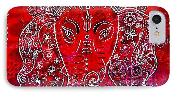 Ganesha IPhone Case by Julie Hoyle