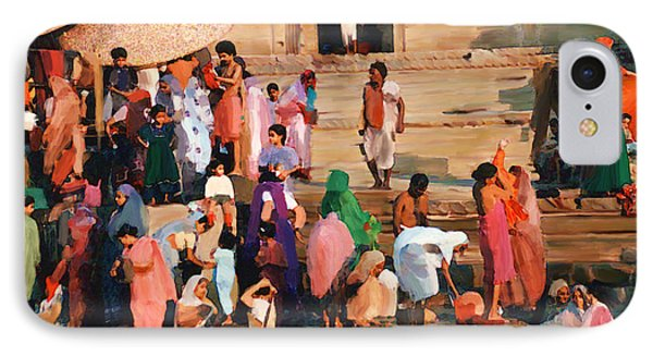 Ganges IPhone Case by Kurt Van Wagner