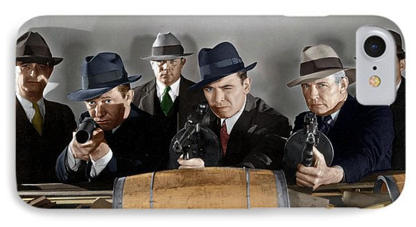 IPhone Case featuring the photograph Gangsters by Granger