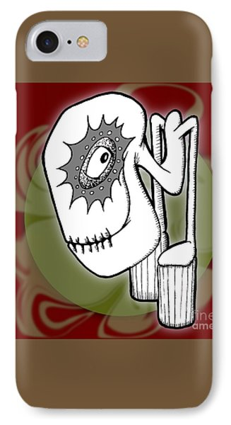 Ganix IPhone Case by Uncle J's Monsters