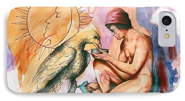 Ganymede And Zeus IPhone Case