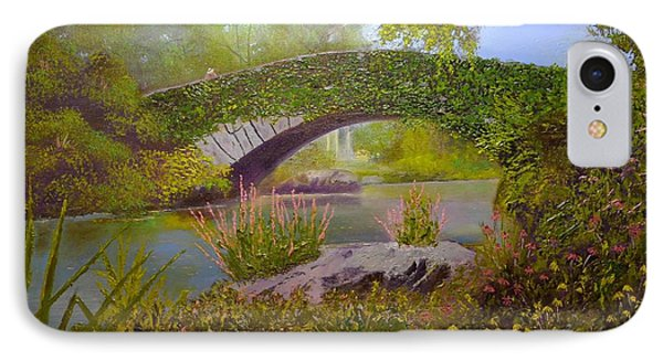 Gapstow Bridge Central Park IPhone Case