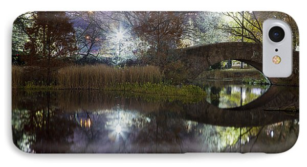 Gapstow Bridge II IPhone Case by Mike Lang