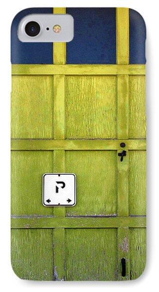 Garage Door IPhone Case by Ethna Gillespie