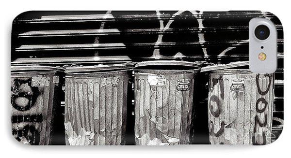 Garbage Phone Case by Madeline Ellis
