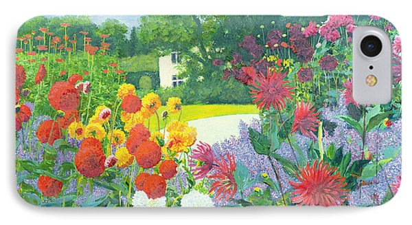 Garden And House IPhone Case by William Ireland