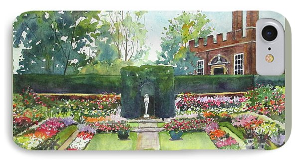 Garden At Hampton Court Palace IPhone Case by Susan Herbst