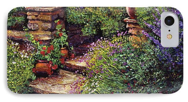 Garden At Villa Verona IPhone Case