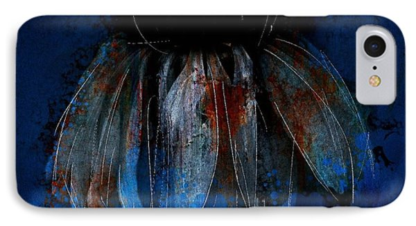 IPhone Case featuring the photograph Garden Blue by Jim Vance