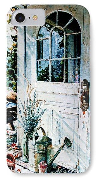 Garden Chores Phone Case by Hanne Lore Koehler