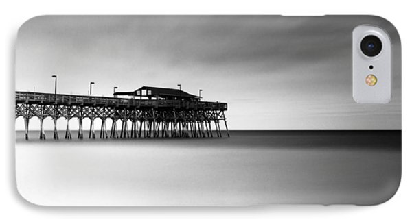Garden City Pier Bw I IPhone Case by Ivo Kerssemakers