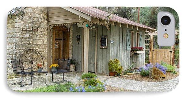 Garden Cottage IPhone Case by Kathy Adams Clark