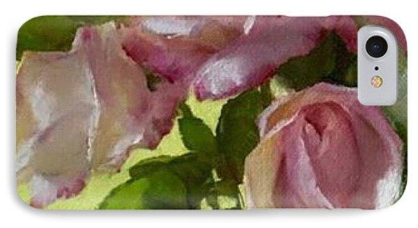 Garden Elegance Detail Image IPhone Case