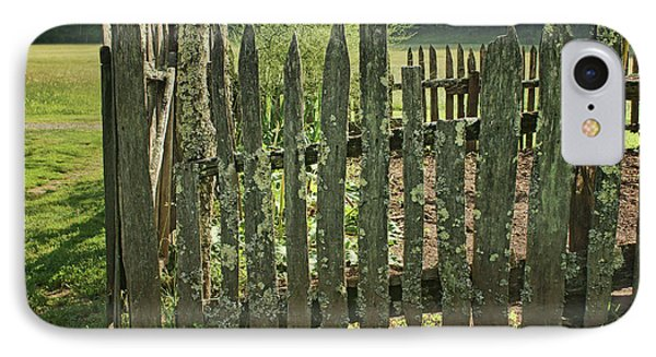 IPhone Case featuring the photograph Garden - Fence by Nikolyn McDonald