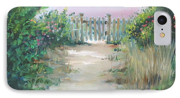 Garden Fence Phone Case by Paul Walsh