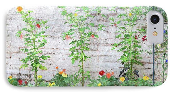 IPhone Case featuring the photograph Garden Florals by Carolyn Dalessandro