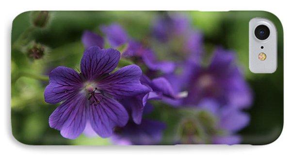 garden Flowers June 15 2015 IPhone Case by Jim Vance