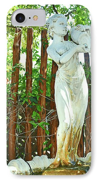 Garden Fountain IPhone Case