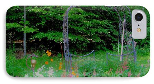 IPhone Case featuring the photograph Garden Gate by Susan Carella