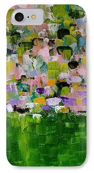 IPhone Case featuring the painting Garden Glory by Judith Rhue