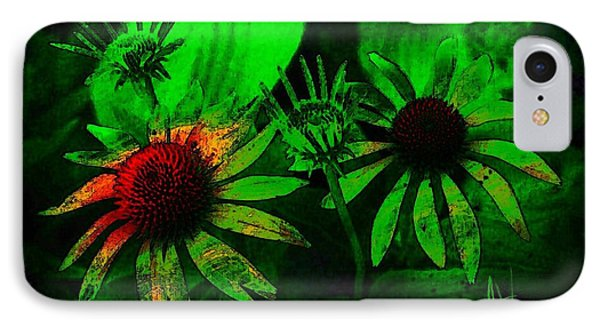 IPhone Case featuring the photograph Garden Green by Jim Vance