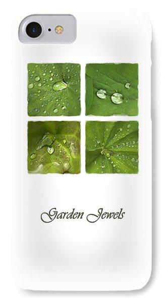 Garden Jewels IPhone Case by Hazy Apple