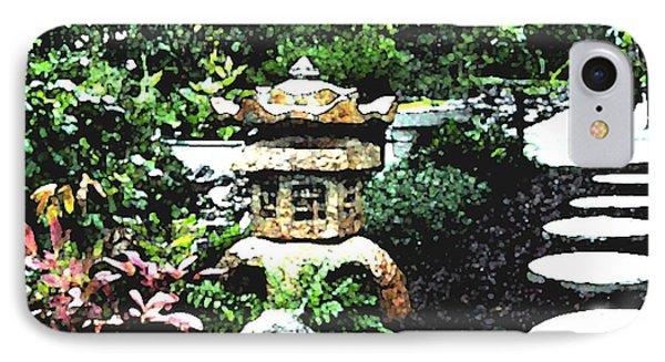 Garden Lantern IPhone Case by Shirley Heyn