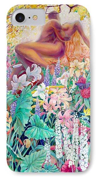 Garden Of Eden IPhone Case by SvetLana Grecova