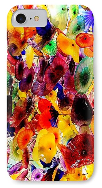 IPhone Case featuring the photograph Garden Of Glass Triptych 1 Of 3 by Benjamin Yeager