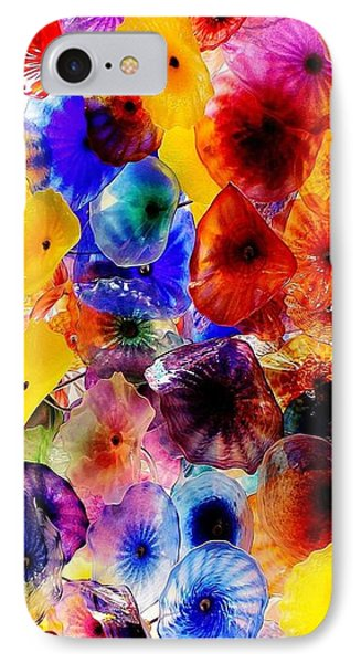 IPhone Case featuring the photograph Garden Of Glass Triptych 2 Of 3 by Benjamin Yeager