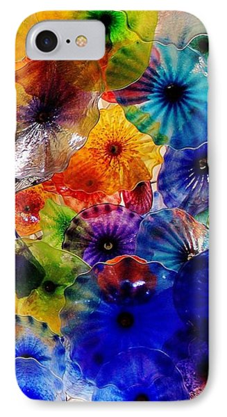 IPhone Case featuring the photograph Garden Of Glass Triptych 3 Of 3 by Benjamin Yeager