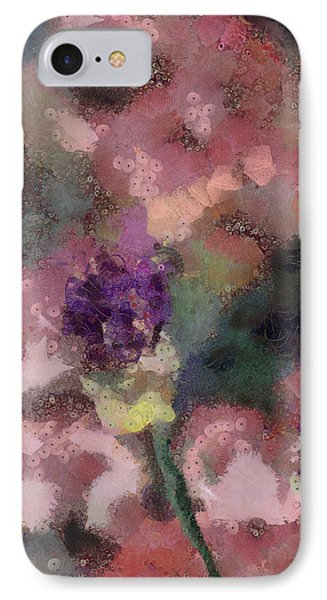 IPhone Case featuring the mixed media Garden Of Love by Trish Tritz