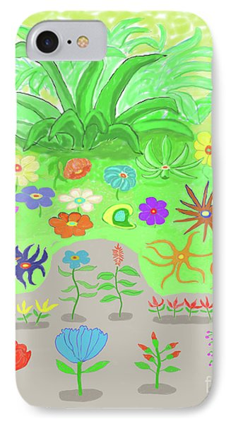 Garden Of Memories Phone Case by Fred Jinkins
