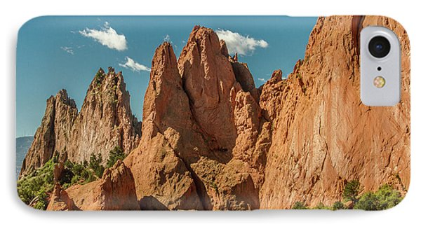 Garden Of The Gods IPhone Case by Bill Gallagher