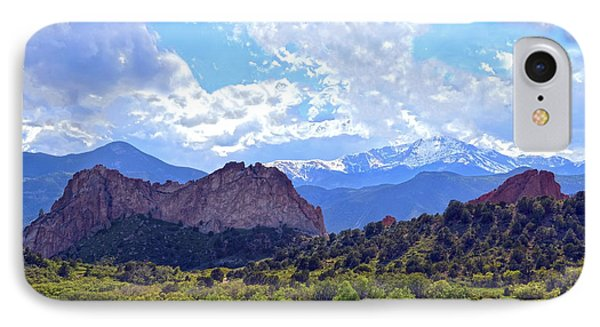 Garden Of The Gods IPhone Case by Catherine Sherman