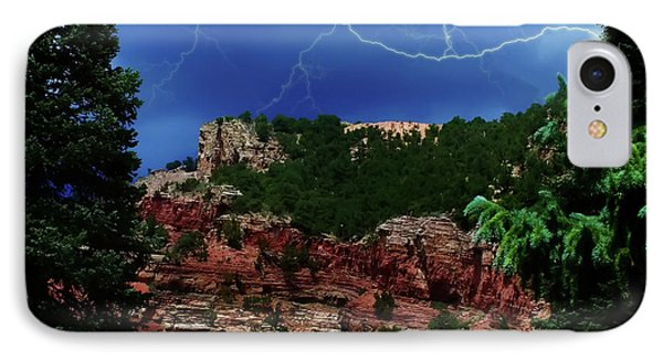 IPhone Case featuring the digital art Garden Of The Gods by Chris Flees