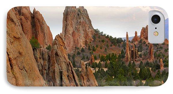 Garden Of The Gods - Colorado  IPhone Case by Mike McGlothlen