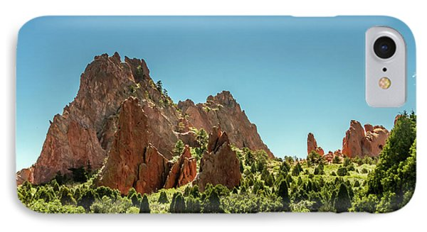 Garden Of The Gods II IPhone Case by Bill Gallagher