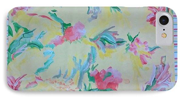 Garden Party Floorcloth IPhone Case by Judith Espinoza