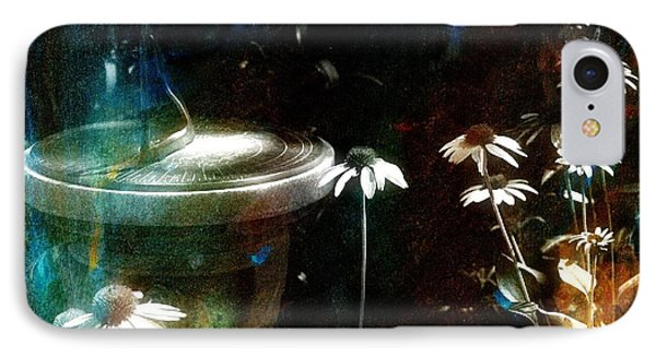 IPhone Case featuring the photograph Garden Party by Jim Vance