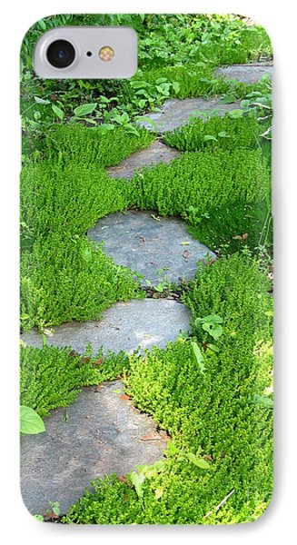 Garden Path Phone Case by Idaho Scenic Images Linda Lantzy
