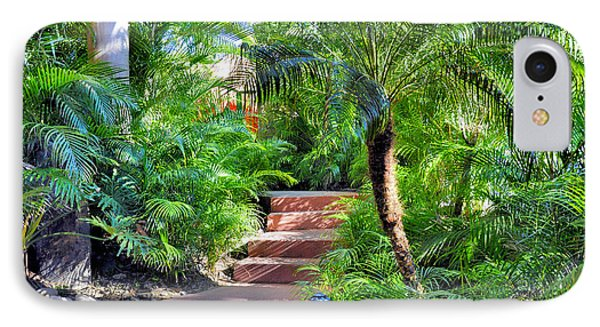 Garden Path IPhone Case by Jim Walls PhotoArtist