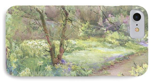 Garden Path IPhone Case by Mildred Anne Butler