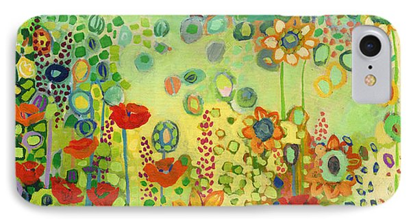Garden Poetry IPhone Case by Jennifer Lommers