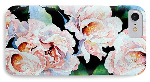 Garden Roses Phone Case by Hanne Lore Koehler
