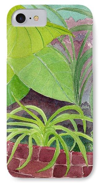 Garden Scene 9-21-10 Phone Case by Fred Jinkins