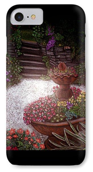 Garden View IPhone Case by Michelle Audas