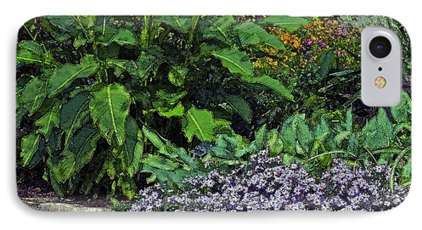 IPhone Case featuring the photograph Garden Wall by Ken Frischkorn