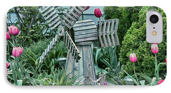 Garden Windmill IPhone Case
